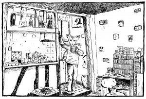 Histoire de souris dans illustrations appart300-300x204