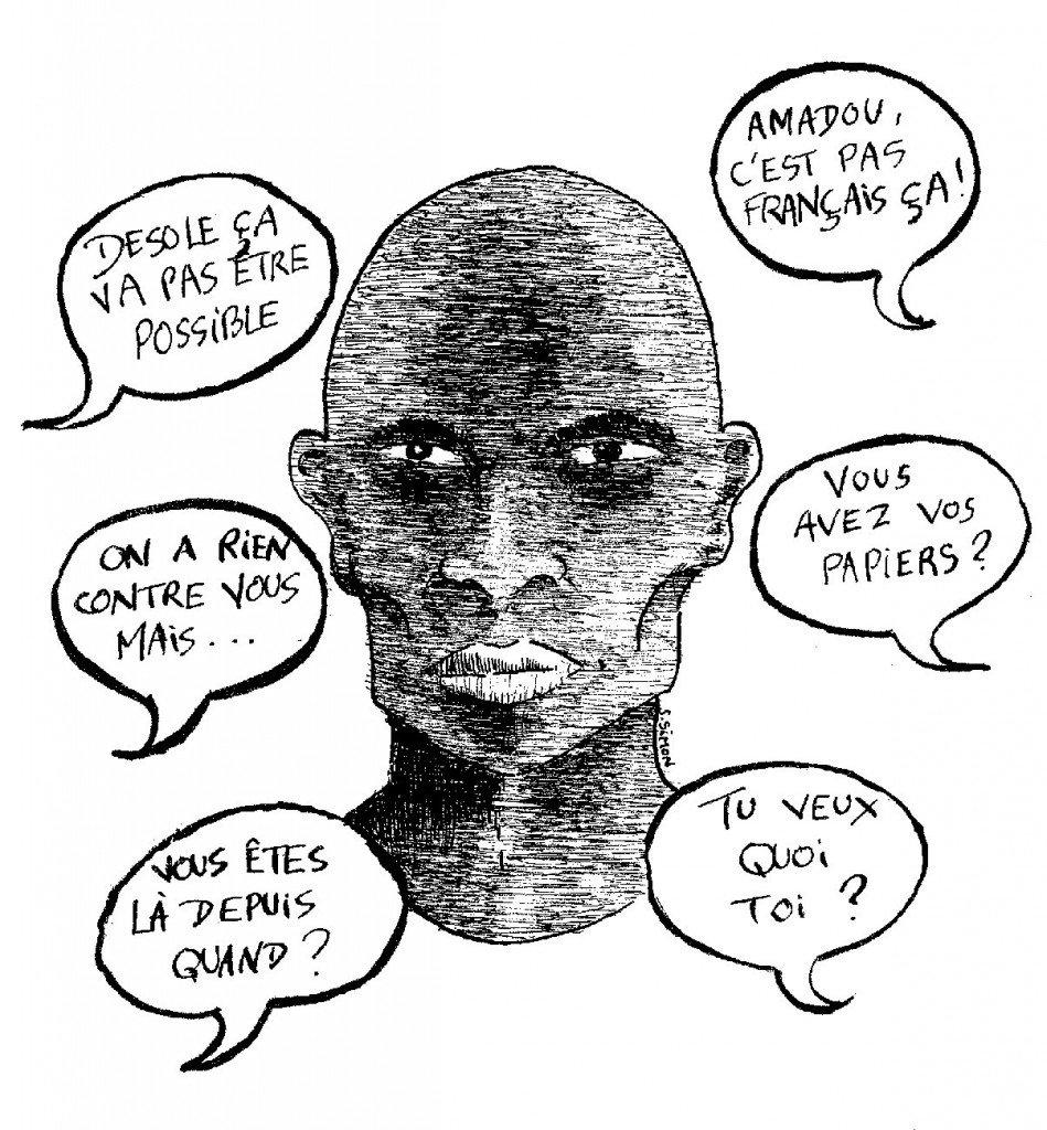discrimination des noirs