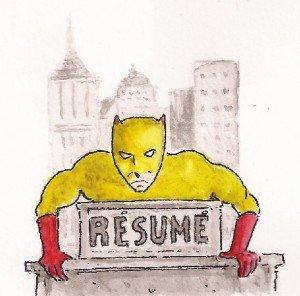 Superman est mort ( II ) dans journal resume-300x296