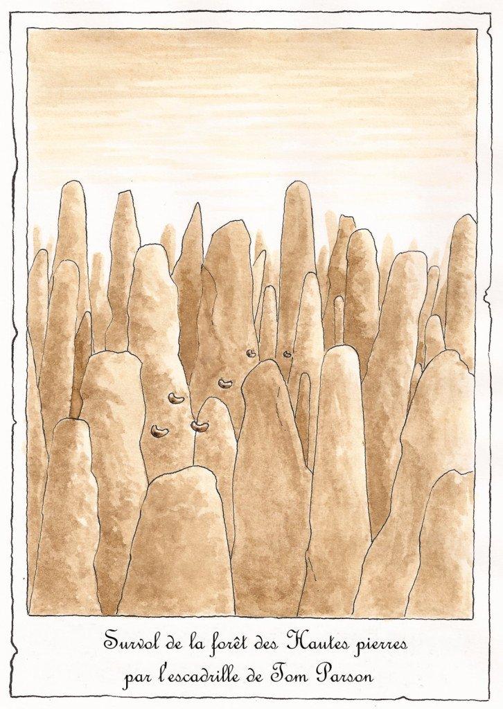 forêt des hautes pierres