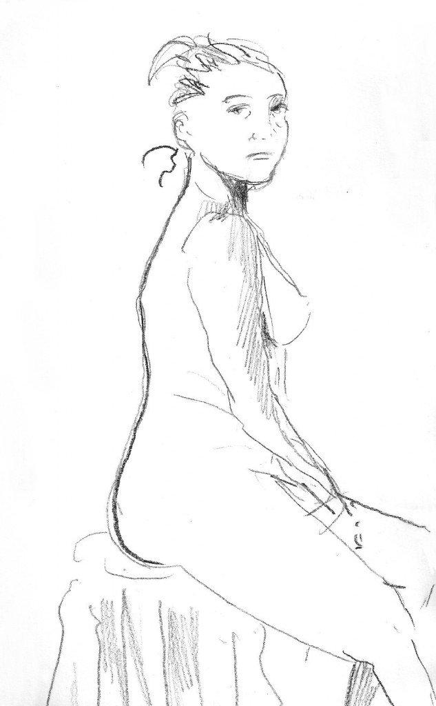 modèle féminin
