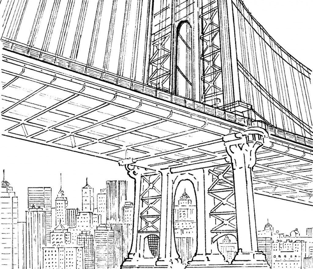 pont ligne claire