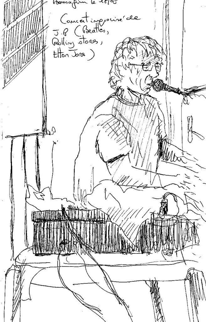 john au piano