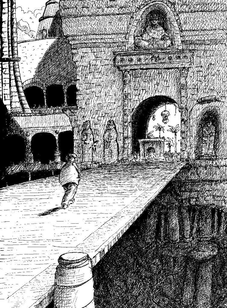 entrée forteresse