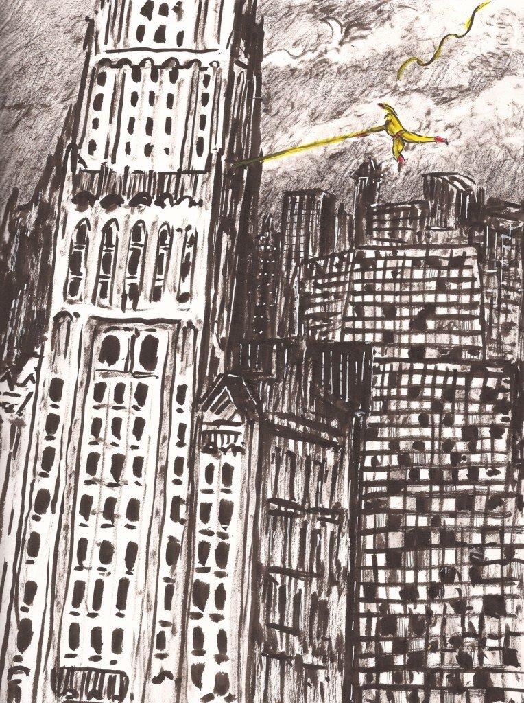 eclair sur new-york