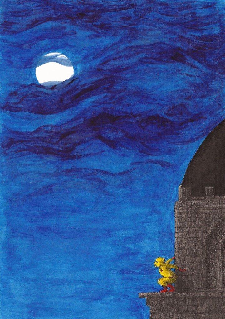 lune l'éclair