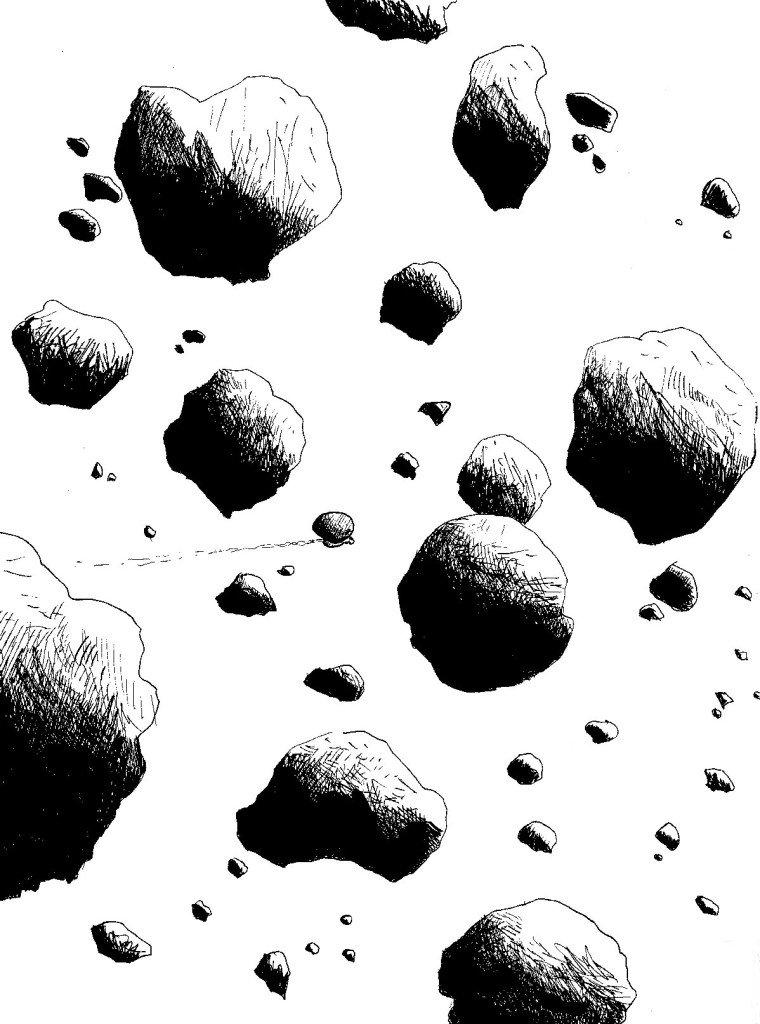 météorites.