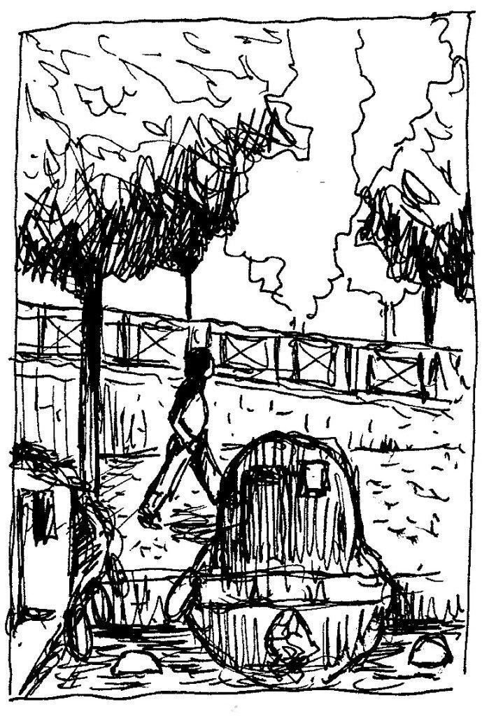 marcher au bord de l'erdre