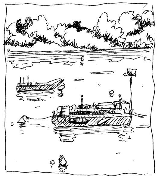 bateaux bord de loire