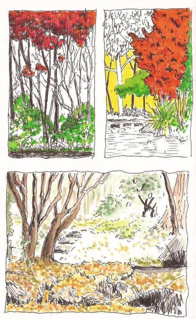 cases de l'automne