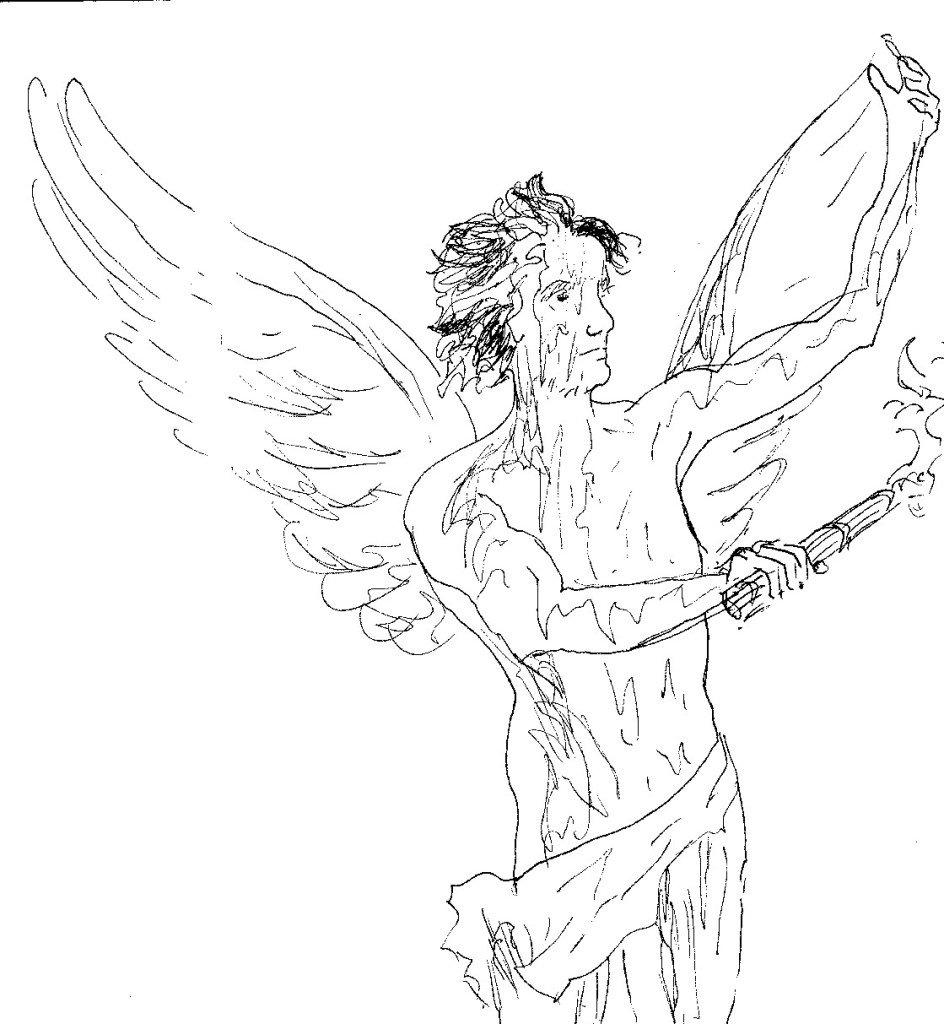 ange cetière de la miséricorde