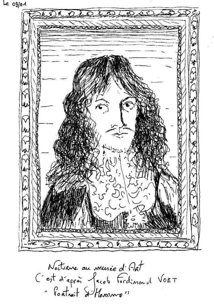 portrait 17ème
