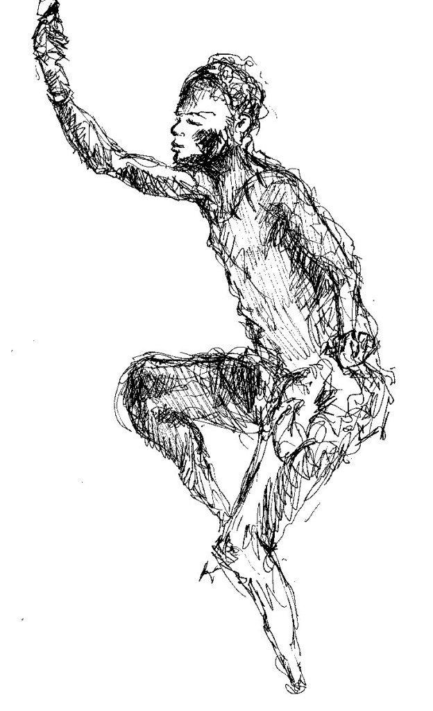 noir dansant