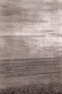 plage au fusain