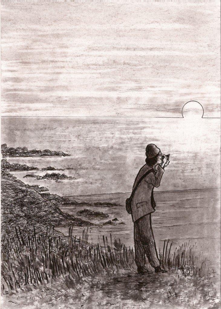 photographe sur la plage