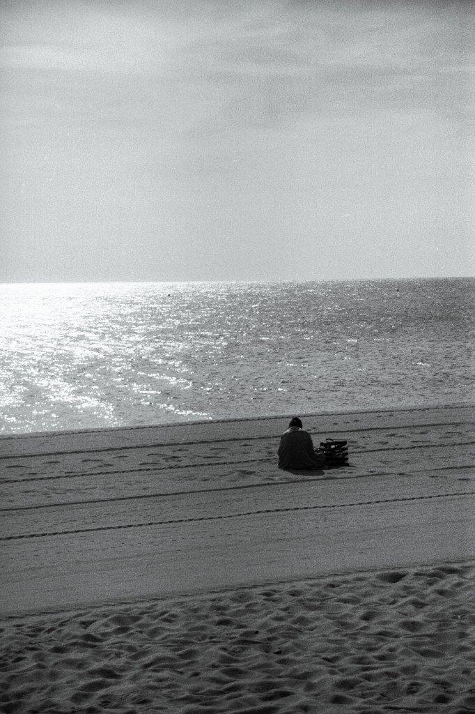 photo femme sur la plage