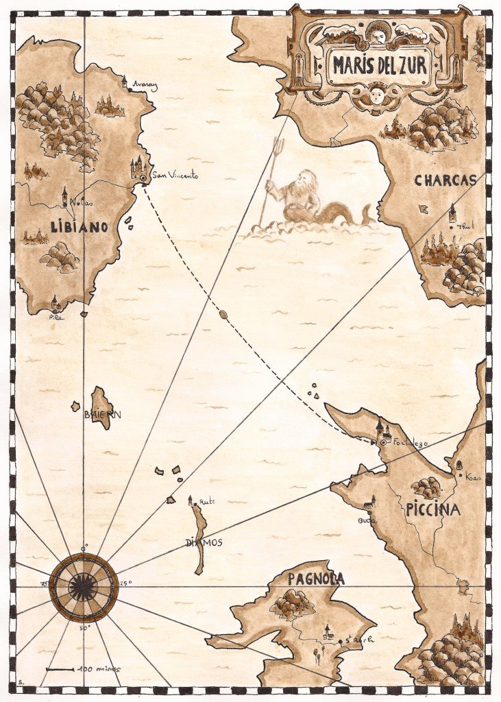 carte marine