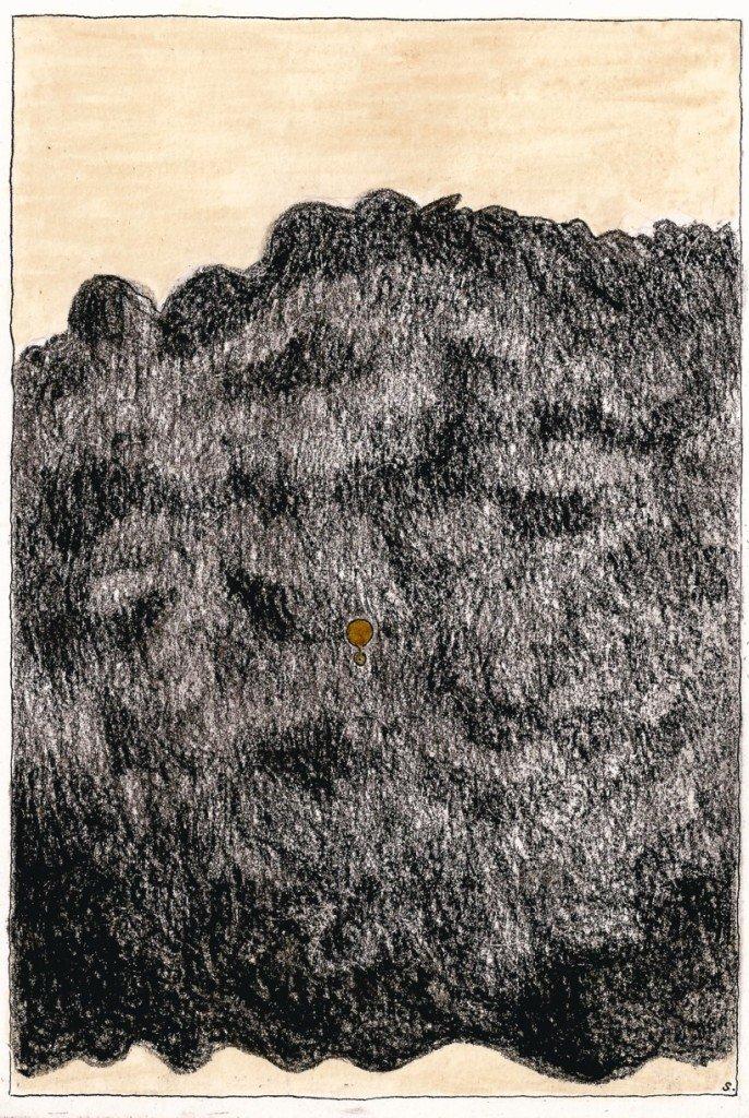 nuage noir barrière
