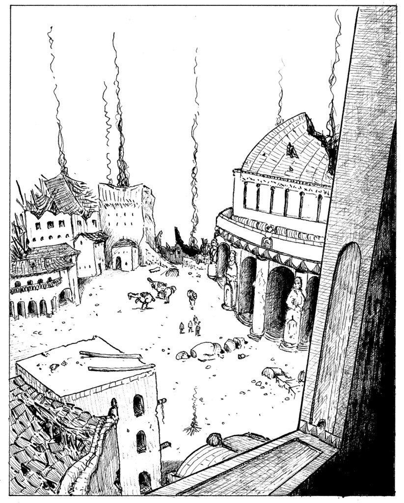 place en ruine