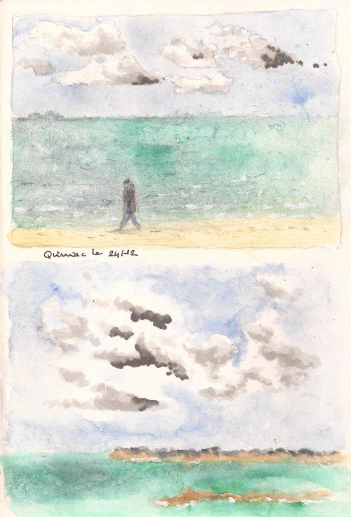 plage à quilmiac