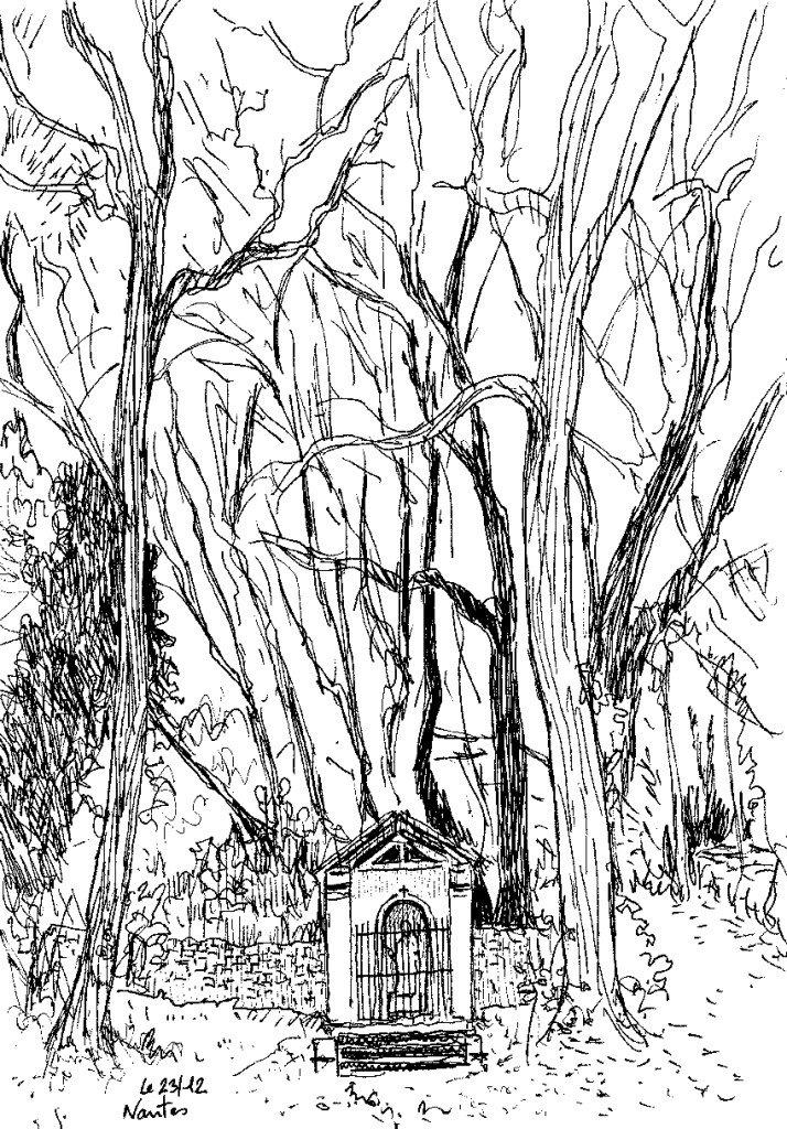 chapelle au bord de l'erdre
