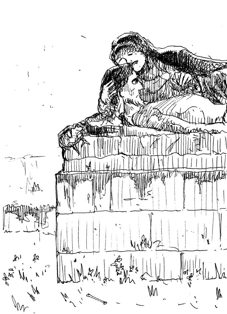 christ du cimetière de la miséricorde nantes