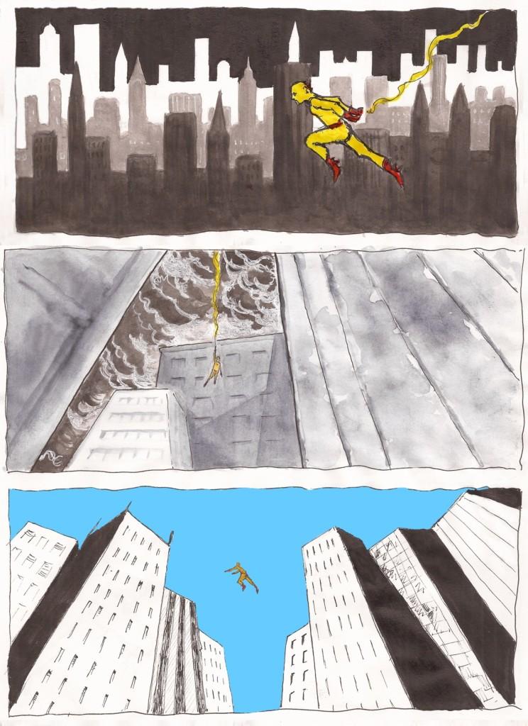 l'éclair super héros