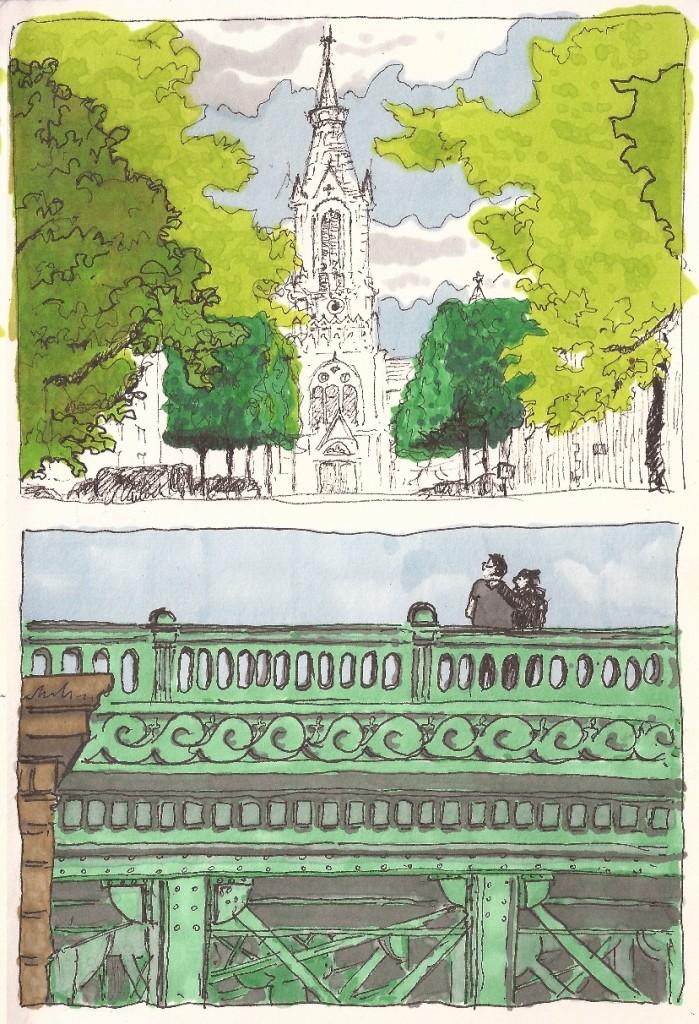 eglise chantenay et pont de la motte rouge