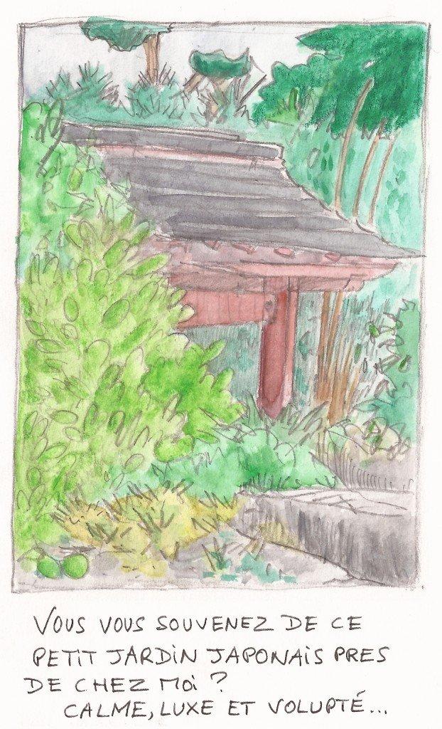porte du jardin japonais