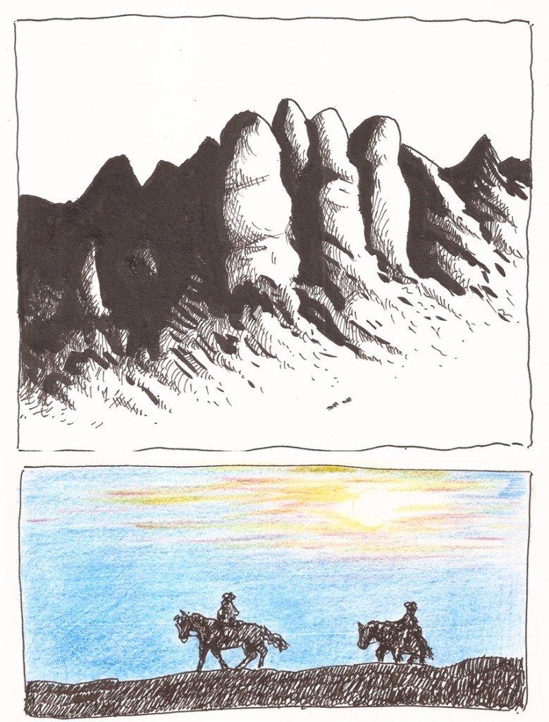 désert pour deux cavaliers