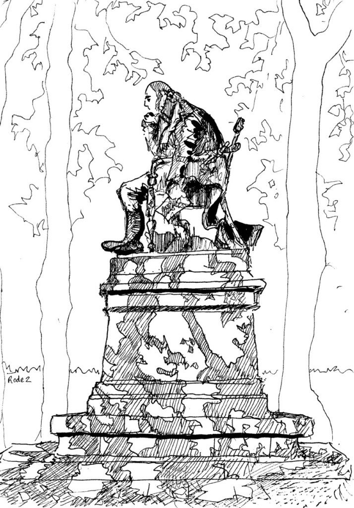 statue a rodez
